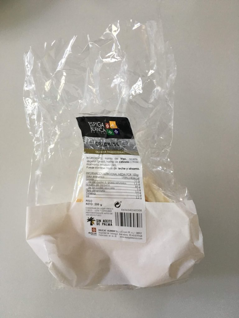 Palm oil label