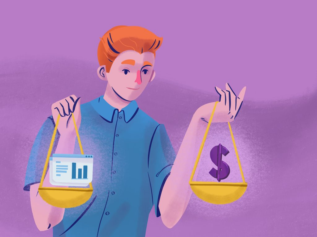 Optimal pricing for a SaaS product is a balancing act.